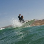 Ripping the wave Surf Maroc Mysteries Spot