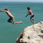 Cliff Jumping Morocco Coast