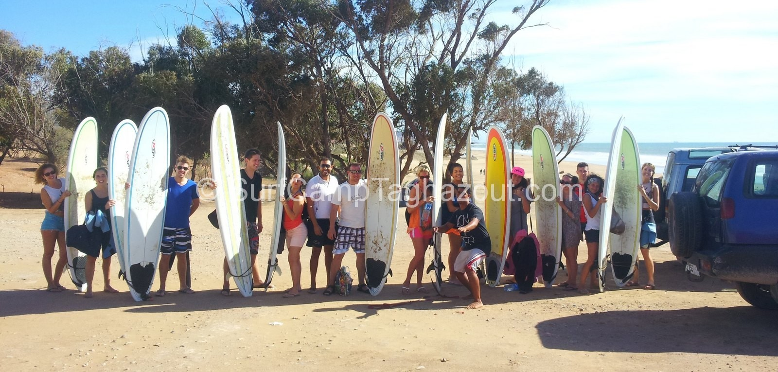 surf camp taghazout group surf lesson school morocco