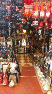 Traditional souvenir shop