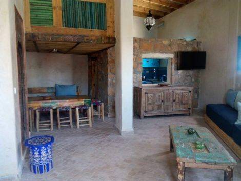 Taghazout Surf House Guest Lounge