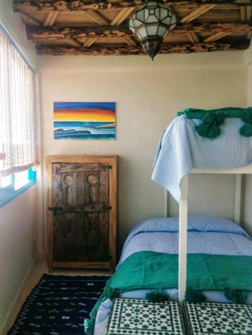 Taghazout Surf House 3 beds double room N9 - 01