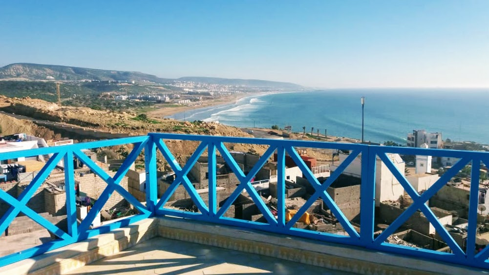 Taghazout Surf House Terrace - 02