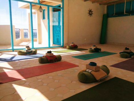 Taghazout Surf House Yoga Shala Terrace - 02